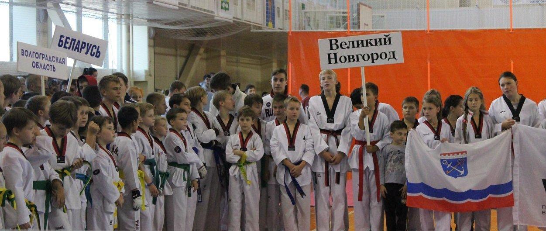 Новгородские тхэквондисты успешно выступили на домашнем турнире «Кубок Новгородского Кремля»