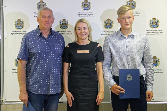 Представители новгородской академической гребли отмечены за высокие спортивные результаты
