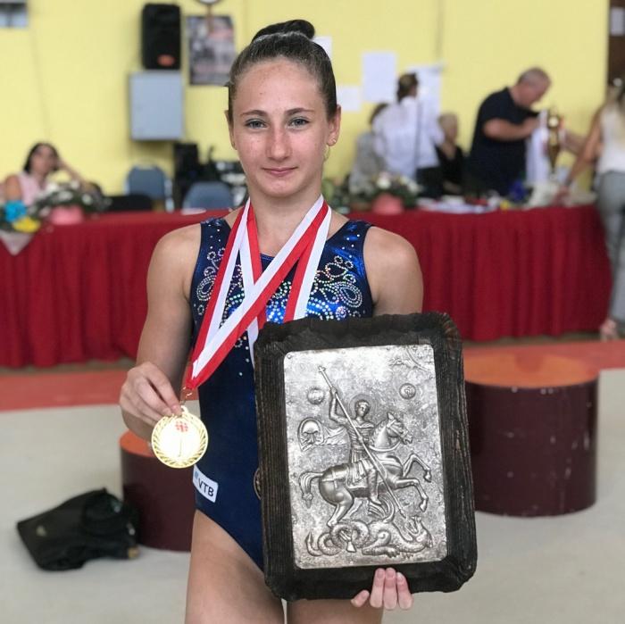 Новгородская гимнастка выиграла международные соревнования