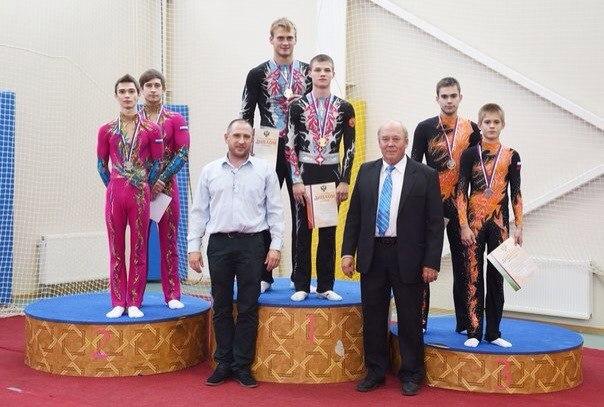 Новгородские акробаты стали бронзовыми призерами чемпионата Российской Федерации